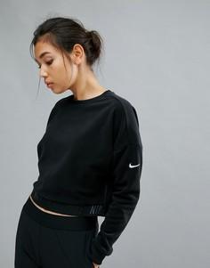 Черный свитшот Nike Training - Черный
