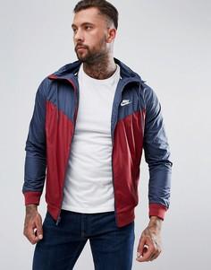 Красная ветровка Nike 727324-679 - Красный