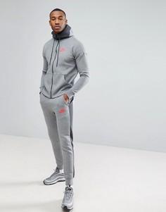 Серый спортивный костюм Nike Air 861628-091 - Серый