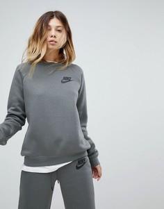 Серый свитшот Nike Rally - Серый