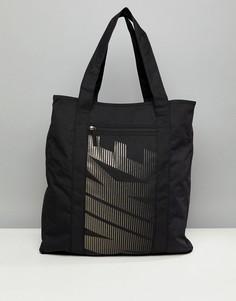 Сумка-тоут с блестками Nike - Черный
