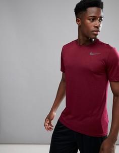 Красная футболка Nike Training Hyper Dri-FIT 832835-652 - Красный