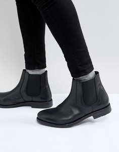 Ботинки челси с круглым носком Frank Wright - Черный