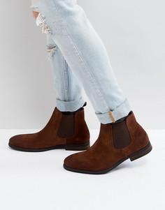 Светло-коричневые замшевые ботинки челси Call It Spring Andler - Рыжий