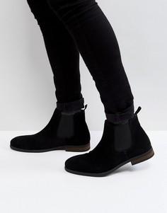 Черные замшевые ботинки Call It Spring Andler - Черный