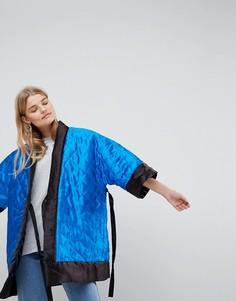 Двустороннее пальто-кимоно ASOS Made In Kenya - Мульти