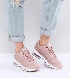 Розовые кроссовки Nike Air Max 95 - Розовый