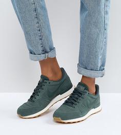 Зеленые винтажные кроссовки Nike Internationalist - Зеленый