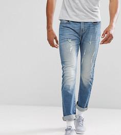 Суженные книзу джинсы Brooklyn Supply Co - Синий