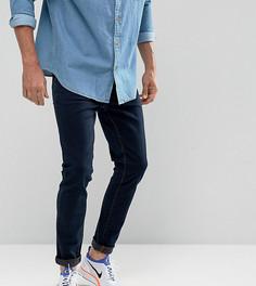 Выбеленные джинсы скинни Brooklyn Supply Co - Темно-синий