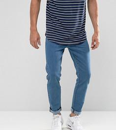 Ярко-синие джинсы скинни Brooklyn Supply Co - Синий