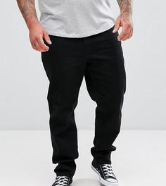 Черные эластичные джинсы слим ASOS PLUS - Черный