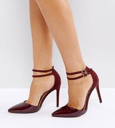 Остроносые туфли на каблуке ASOS PRIMROSE - Красный