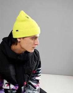 Желтая шапка-бини Volcom Snow Sweep - Желтый
