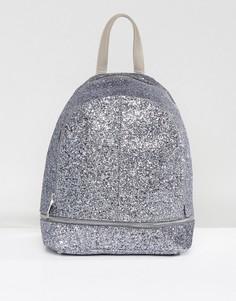 Рюкзак с блестками Yoki - Серебряный
