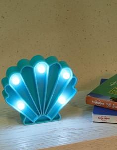 Небольшой светильник в виде ракушки - Мульти Fizz Creations
