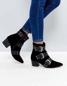 Замшевые ботинки ASOS RAVANA - Черный