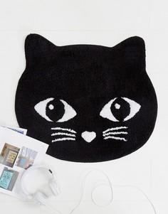 Коврик в виде черной кошки Sass & Belle - Мульти