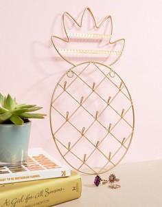 Держатель для украшений в форме ананаса Sass & Belle - Мульти