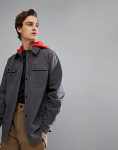 Фланелевая куртка Volcom - Серый