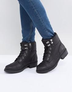 Походные ботинки на меховой подкладке Call It Spring Legiaven - Черный