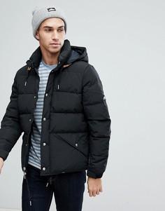 Черная пуховая куртка со съемным капюшоном Penfield Bowerbridge - Черный