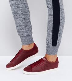 Замшевые кроссовки с эффектом металлик Le Coq Sportif Charline - Красный