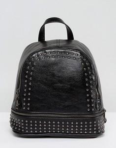 Рюкзак с заклепками 7X - Черный