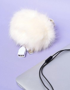 Портативное зарядное устройство в виде помпона Fizz - Мульти
