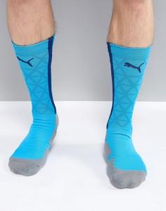 Синие спортивные носки Puma Football evoTRG 65536350 - Синий