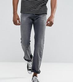 Серые выбеленные джинсы с легким клешем Diesel Zatiny 084JK - Серый