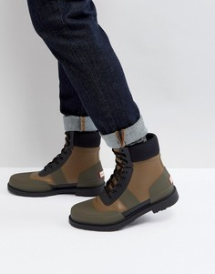 Ботинки со шнуровкой Hunter Original Comando - Рыжий