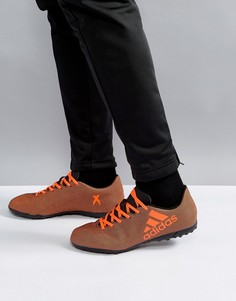 Черные кроссовки adidas Football X 17.4 Astro Turf S82416 - Черный