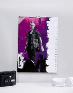 Официальный календарь на 2018 Justin Bieber - Мульти Books