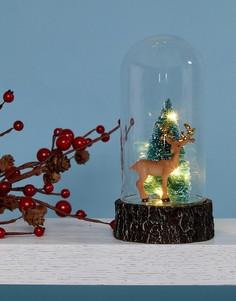 Новогодний шар со светодиодами Sass & Belle - Мульти