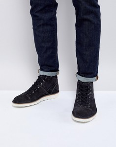 Темно-серые замшевые ботинки PS Paul Smith Rainey - Черный