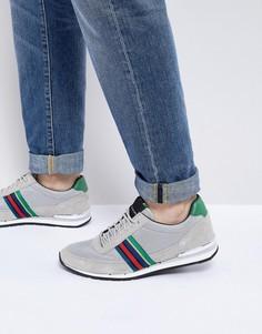 Серые кроссовки с полосами PS Paul Smith Svenson - Серый