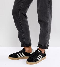 Черные кроссовки adidas Originals Campus - Черный