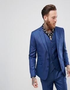 Облегающий пиджак Devils Advocate - Синий