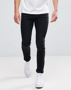 Черные джинсы слим Kiomi - Черный
