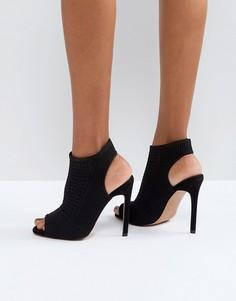 Трикотажные туфли на каблуке ASOS HARLEM - Черный
