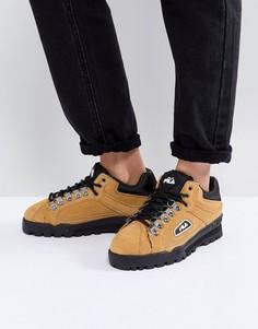 Кроссовки горчичного цвета Fila Trailblazer - Желтый