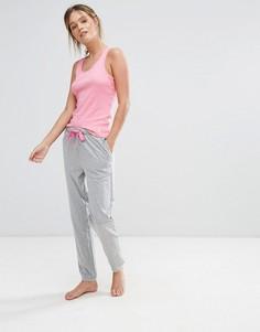 Пижамный комплект с майкой Original Penguin - Розовый