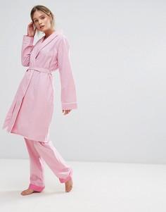 Халат в клеточку Original Penguin - Розовый