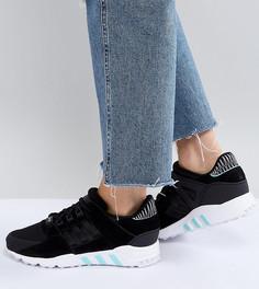 Черные кроссовки adidas Originals EQT Support Rf - Черный
