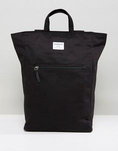 Черный рюкзак Sandqvist Tony - Черный