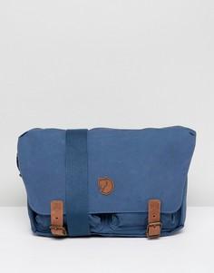 Темно-синяя сумка почтальона Fjallraven Ovik - 10 л - Темно-синий