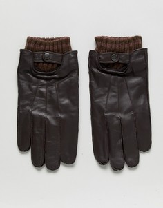 Кожаные перчатки Boardmans - Черный