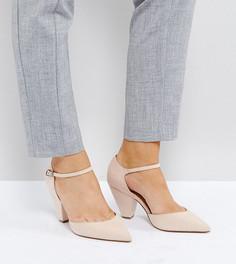 Туфли на каблуке для широкой стопы ASOS SPEAKER - Бежевый