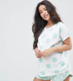Пижамный комплект с шортами ASOS Maternity - Зеленый